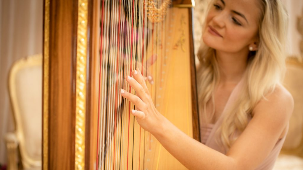10 Reasons to Book a Harpist