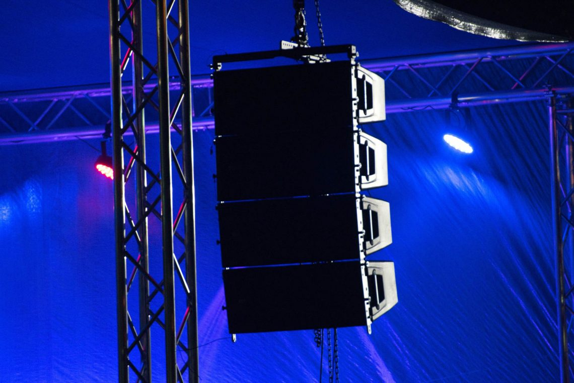 Concert PA Hire