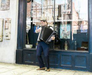 Accordionist Jonny - Gypsy Jazz