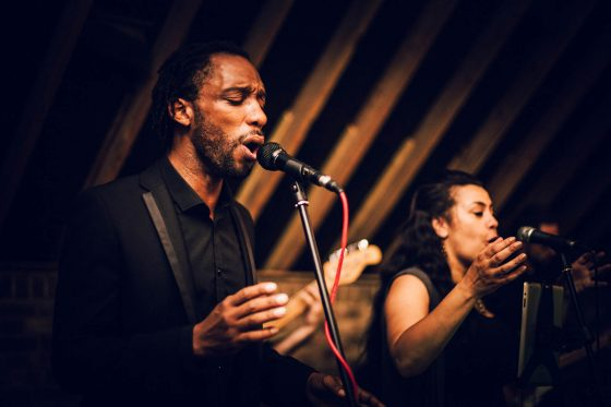 Better Call Soul singers on stage