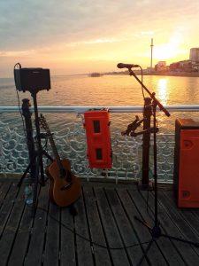 Brighton Pier set up