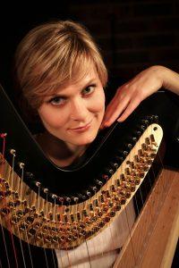 Brighton Harpist