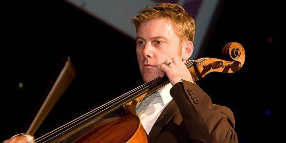 string quartet cellist