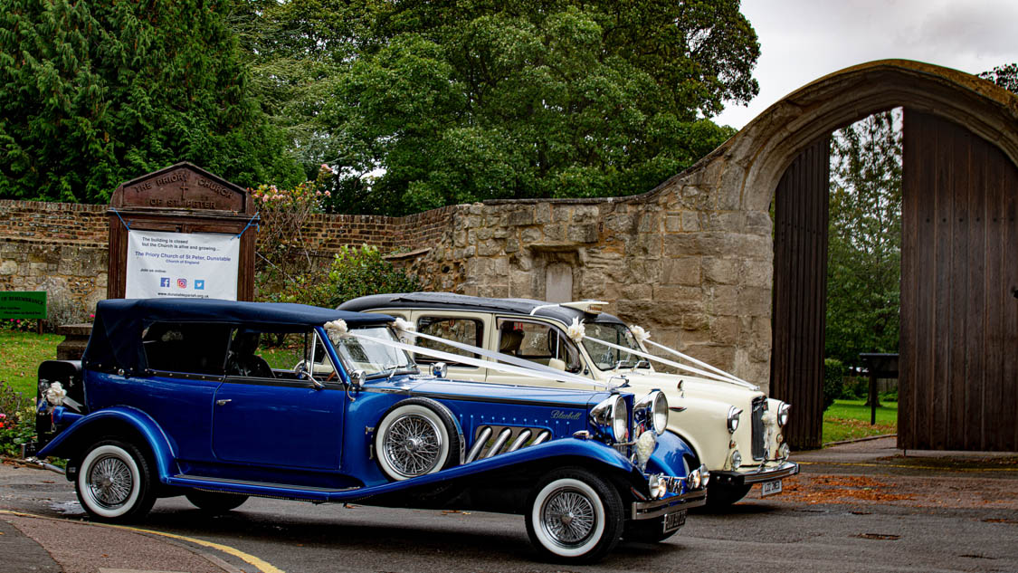 Bedfordshire Wedding Venue and Cars