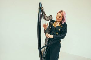 Eleanor Turner Harpist - Portrait