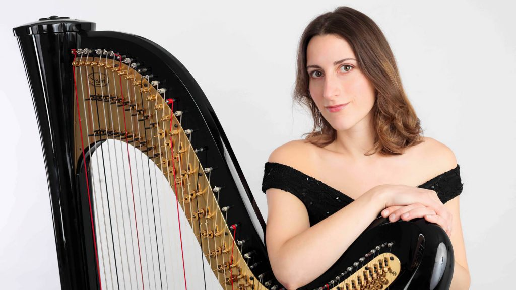 Harpist Cecily for Hire