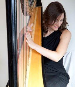 Harpist Cecily - London Harpist
