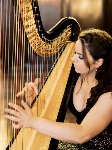 Harpist Rhianwen