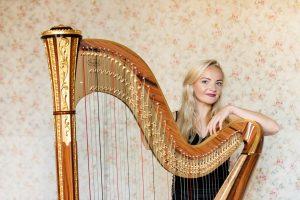 Leicester Harpist - Portrait