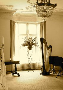 Manchester Harpist at The Rookery