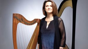 Manchester Harpist - Studio Portrait