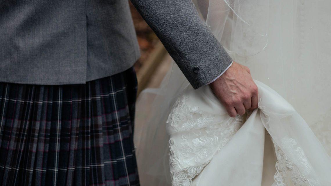 Scotland, Wedding Couple