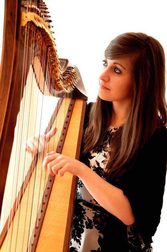 portrait harpist