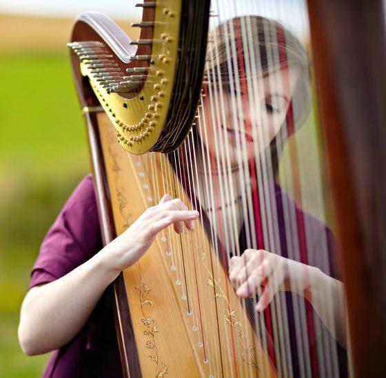 scottish harpist