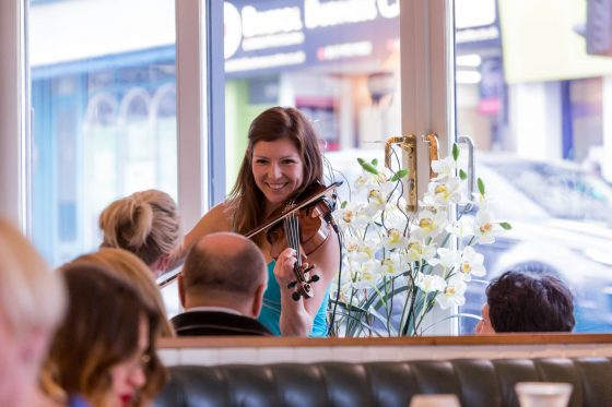 Violinist Liz